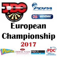 JDC European Championship Entry